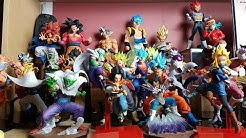 Banpresto & Bandai Dragon Ball Figuren Sammlung im Aufbau | Comic Toy Hunter