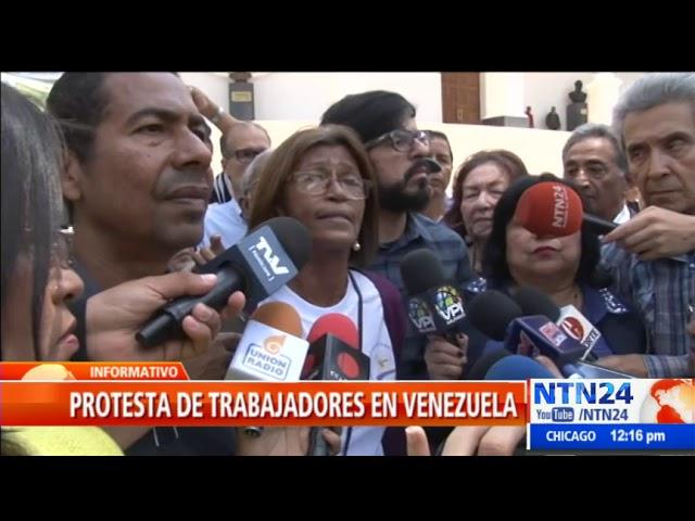 Colectivos arremetieron contra trabajadores que acudían a la AN