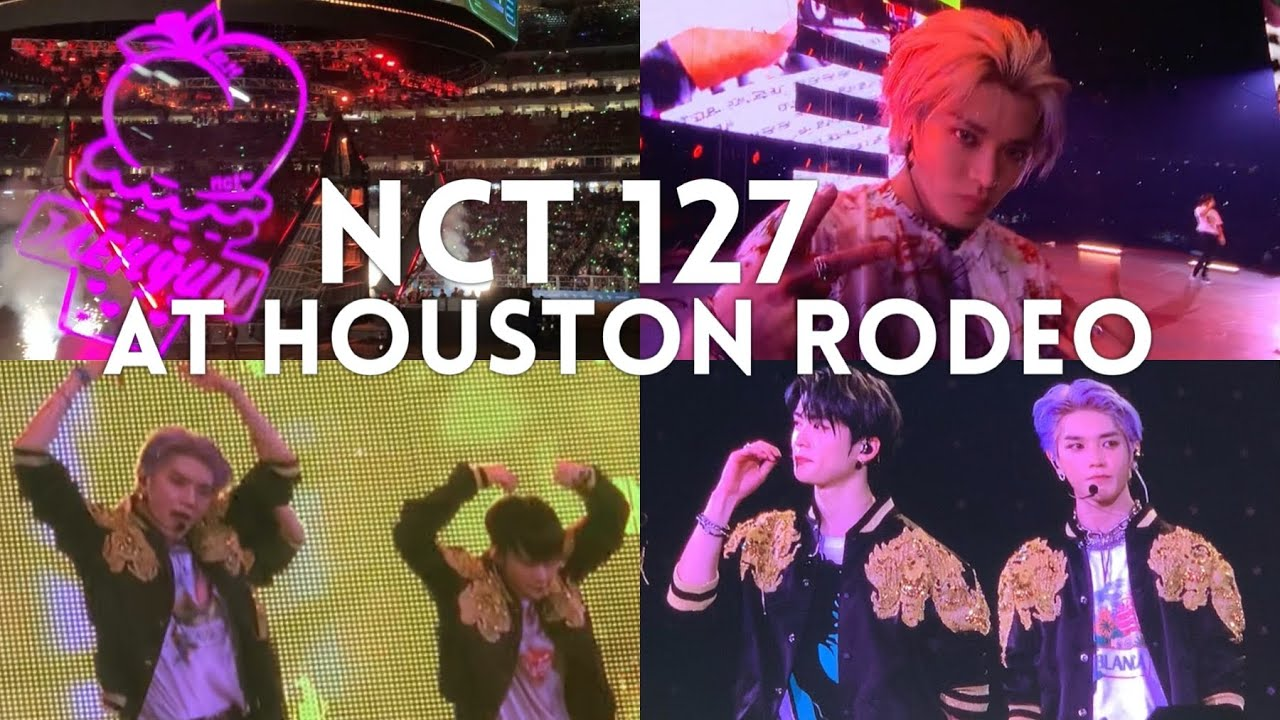 NCT 127 엔시티 at Houston Rodeo 2020 Fancam