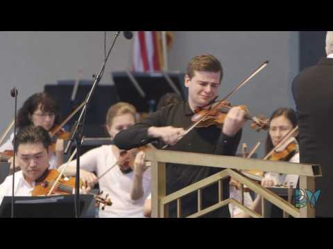 Chad Hoopes plays Kreisler with The Philadelphia Orchestra at Bravo! Vail