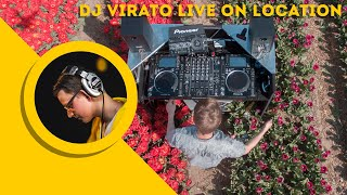 Tulip Field | DJ LIVE On Location #1 - DJ Virato
