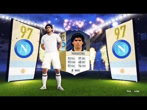 97 PRIME ICON MARADONA Neapel Buy First Guy Discard CHALLENGE! ⚽🔥 Fifa 18 Ultimate Team Deutsch