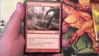 Opening a MTG Genesis Hydra 3-pack Blister!