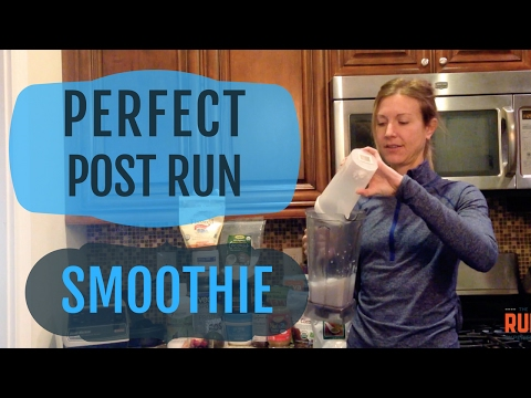 Nutrition For Running: Perfect Post Run Smoothie