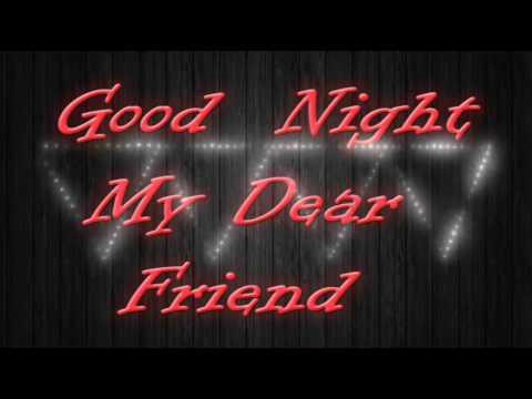 Hello Friends Good Night Video Whatsaap Wallpapere Cardsfacebook