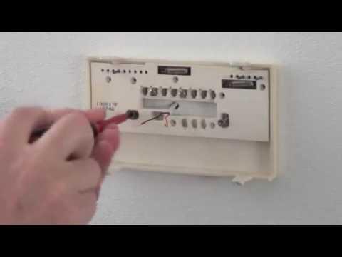 Thermostaat vervangen: Chronotherm III | Honeywell Home ...