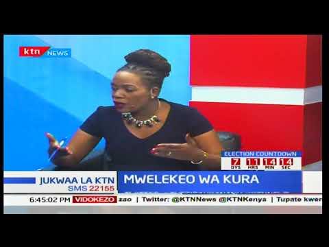 Jukwaa la KTN: Kamishna wa IEBC Roselyne Akombe ajiuzulu