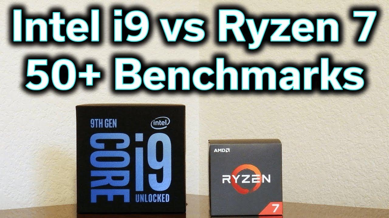 Intel i9-9900K vs Ryzen 7 2700X - Which Should You Buy?