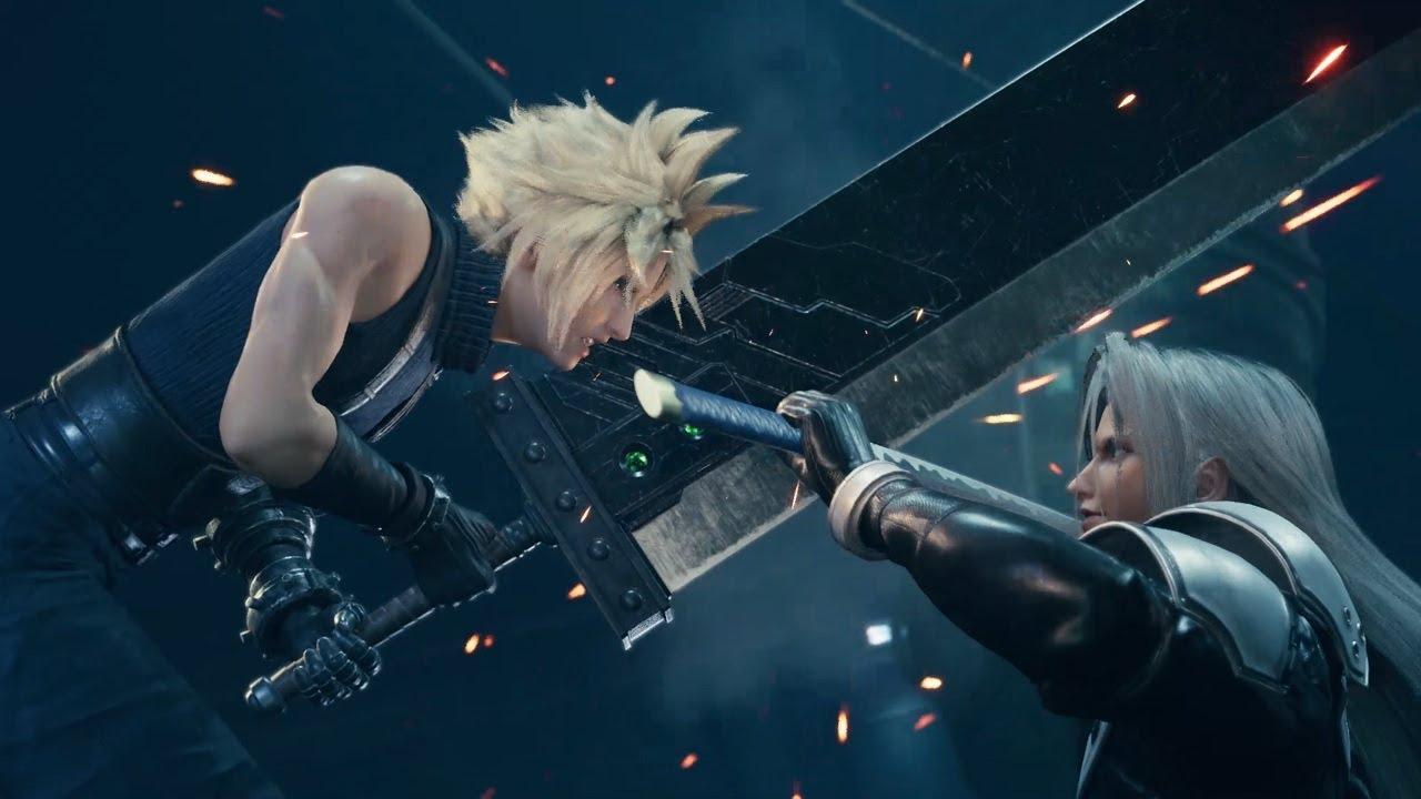 PS4 I Final Fantasy VII Remake 프로듀서의 발매 기념  메시지
