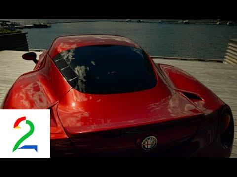 Alfa Romeo 4C TEST, handmade head turner - Broom TV 2