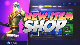 NEW VENTURION SKIN! Fortnite ITEM SHOP May 19th 2018! NEW Daily Items and Featured Items!