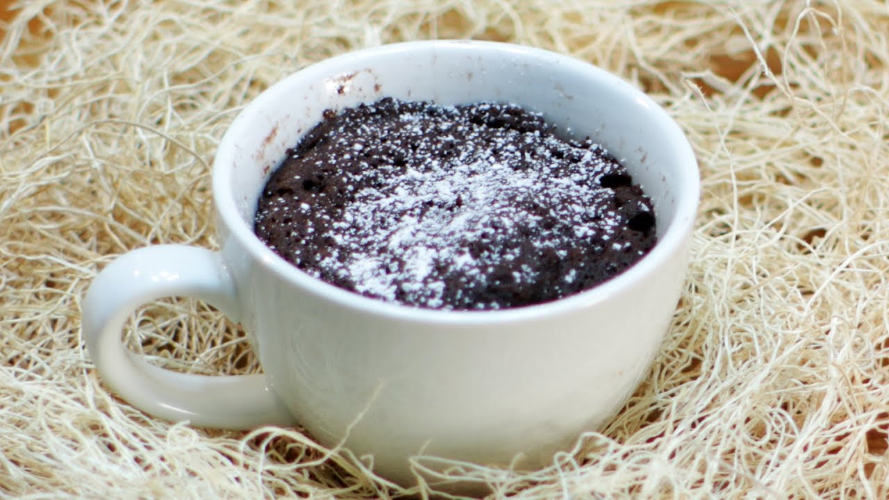How to make a mug cake | Microwave Mug Cake Recipe (no ...