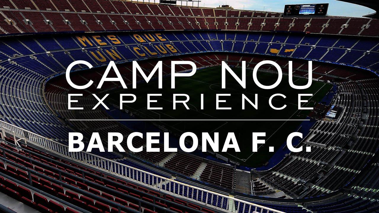 Camp Nou Experience - Barcelona F. C. - YouTube