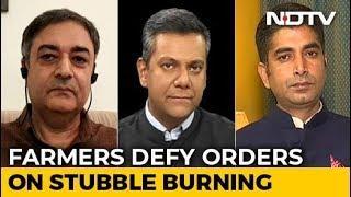 Left, Right & Centre |  Stubble Burning: Farmers Vs Authorities