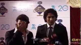 Neil Bhatt, Gagan Malik,  Neha Sargam at Zee Rishtey Awards 2012