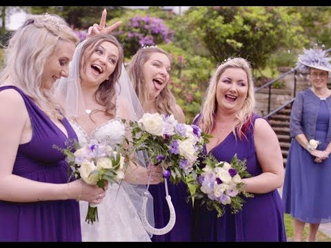 Lauren & Paul Wedding Video at Higher Trapp Hotel, Burnley.