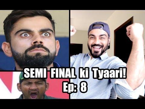 भारत बनाम न्यूजीलैंड सेमीफाइनल की tyari | कोहली ke Maslay | देसी दुल्हन & amp; और अधिक | एपि 8