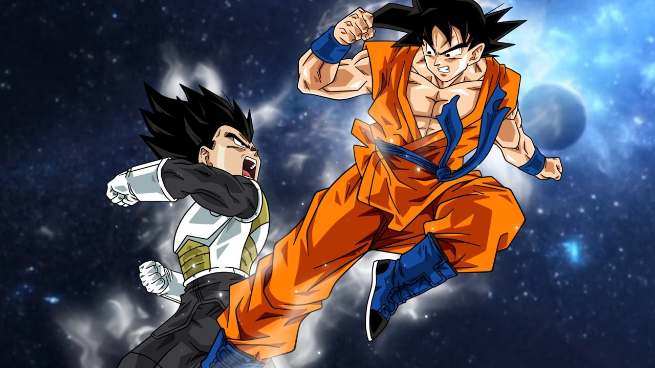 Anime Fighting Wallpaper Goku Vs Vegeta The Final Battle Youtube