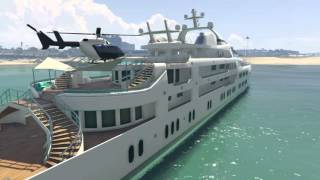 GTA Online: SUPER YACHT TOUR! Yacht Preise, Upgrades & more! (Executives and Other Criminals DLC)