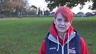 Sue Bennett on 2019 World Transplant Games