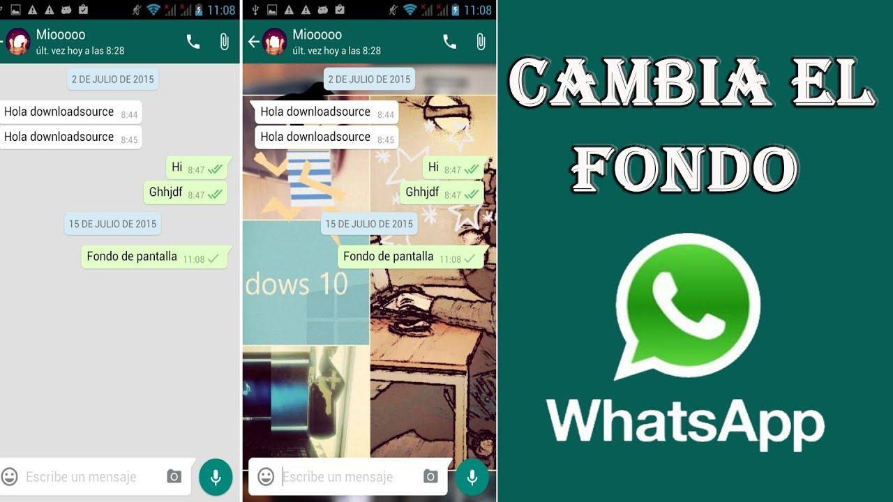 App para cambiar el fondo de whatsapp