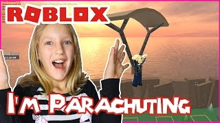 Parachuting from a Helicopter / Roblox Redwood Prison