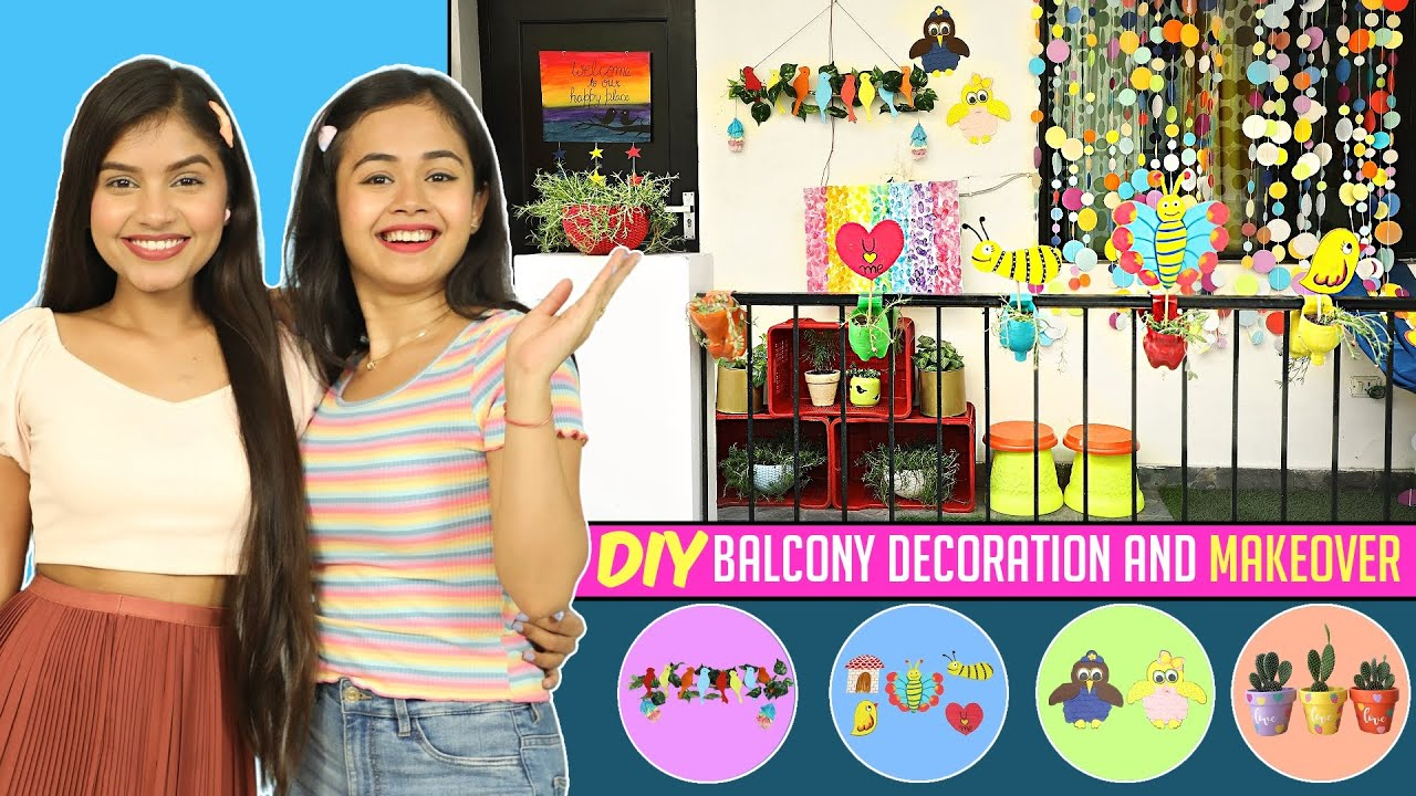 DIY Balcony Decoration and Makeover | DIYQueen