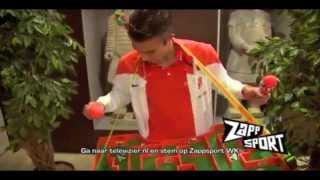 Net als Robin van Persie ook genoten van Zappsport WK? Stem op de Gouden Stuiver!