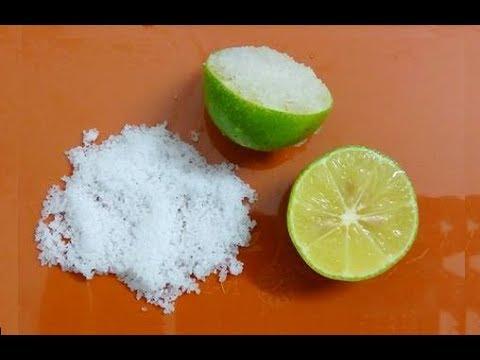Kết quả hình ảnh cho muối trộn với tỏi và chanh