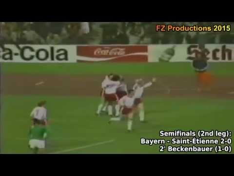 1974-1975 European Cup: FC Bayern Munich Goals (Road To Victory)