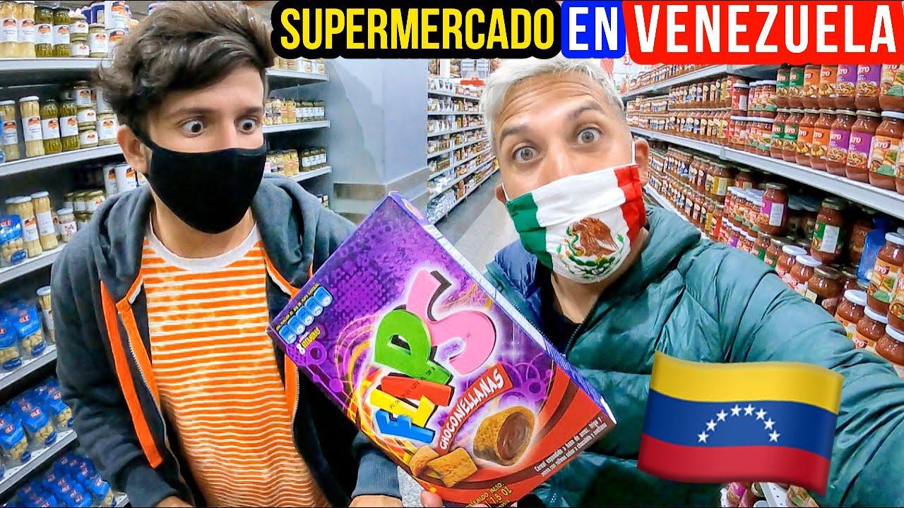 Cómo es un SUPERMERCADO en VENEZUELA 🇻🇪 (en la actualidad) | Alex Tienda ✈️