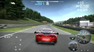 NFS Shift new record with Corvette Z 06 at Spa