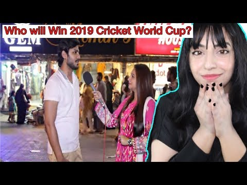 Pakistani Public: Pakistan India or England  Who Will Win World Cup 2019? REACTION