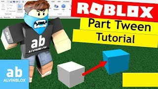 Roblox TweenService Tutorial - Make A Tween Word Block