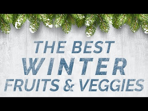 The Best Winter Fruits and Veggies