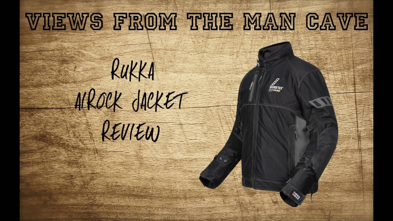 Man Cave Review : Rukka airock jacket review views from the man cave youtube