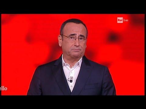 Carlo Conti torna all'Eredità ricordando Fabrizio Frizzi - L'Eredità del 03/04/2018