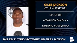 Giles Jackson: 2019 Michigan Football Recruiting Profile And Highlights Of The 4-Star Wide Receiver