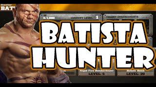 Unlock Hunter Batista WWE IMMORTALS [Hunter Batista Challange]