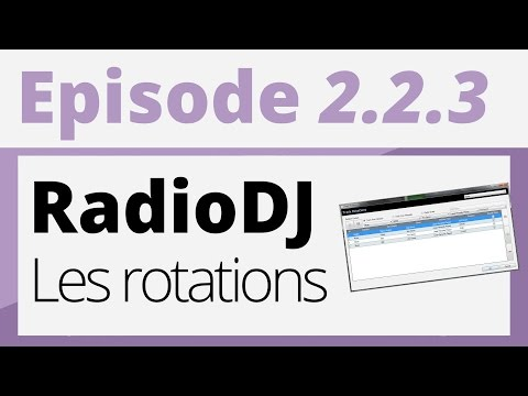 Créer sa radio - 2.2.3 - Les règles de rotations [RadioDJ]