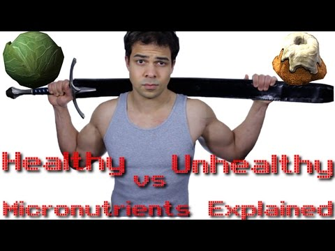 Healthy Foods vs Unhealthy Foods: Micronutrients Explained