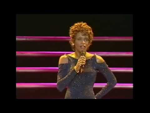 RARE Video!! I'm Every Woman LIVE Whitney Houston 1998 Manchester