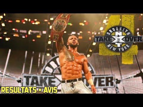 Résultats : NXT TAKEOVER BROOKLYN 4