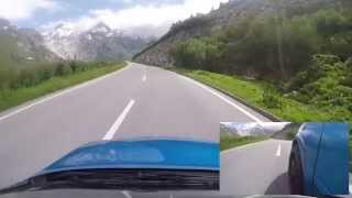 Astra G OPC Stage 4; Driving over the Furka Pass
