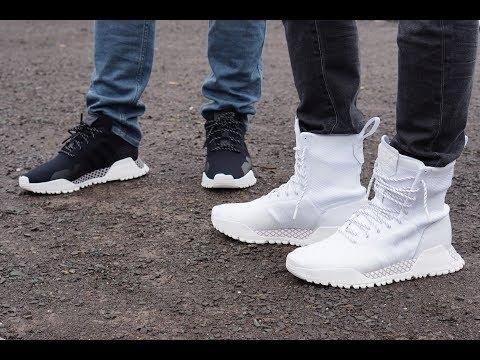 Historiador lanzamiento Concentración  On-Feet adidas AF 1.3 PK & AF 1.4 PK - YouTube