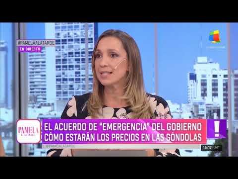 """El acuerdo de """"emergencia"""" del Gobierno, en Pamela a la Tarde (18/04/2019)"""