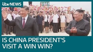 Why President Xi Jinping's visit to North Korea could be a win-win situation | ITV News