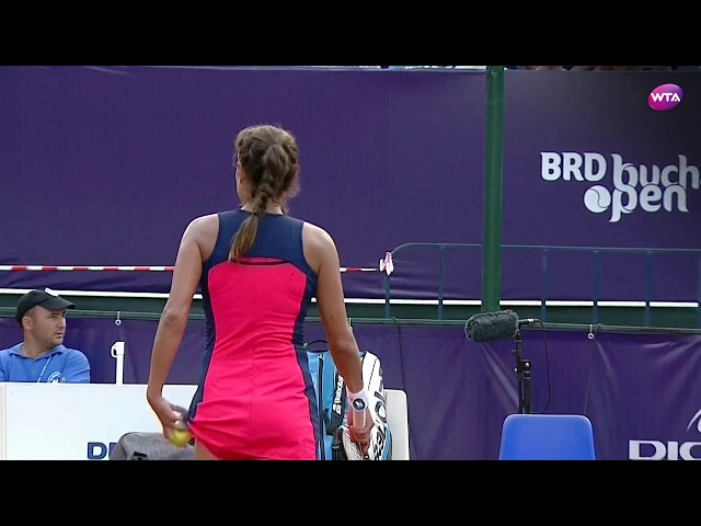 2017 Bucharest Open Semifinals | Julia Goerges vs Ana Bogdan | WTA Highlights