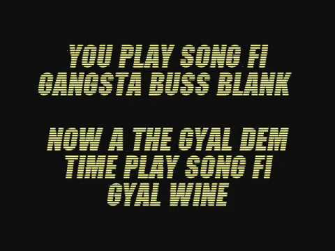 Konshens Gyal a Bubble Lyrics (Follow @DancehallLyrics )