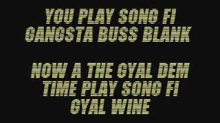 Konshens Gyal a Bubble Lyrics (Follow @DancehallLyrics )